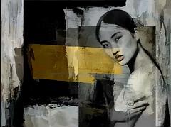 layers and texture (skizo39) Tags: woman texture yellow collage layers art digitalprocessing digitalart digitalpainting photomanipulation graphical design creation artistic