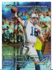 PEYTON MANNING FINEST REFRACTOR (Hamcam115) Tags: peyton manning topps finest refractor