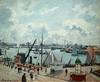 PISSARRO Camille,1903 - L'Anse des Pilotes, Le Havre, Matin, Soleil, Marée montante (Le Havre) - 0
