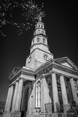 St. Philips Church (HD_Keith) Tags: bw architectural architecture blackwhite blackandwhite building church edifice edifices historic historical placeofworship religiousbuilding structures charleston sc usa