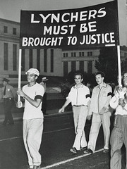 'Lynchers Must be Brought to Justice' - 1946 (washington_area_spark) Tags: monroe georgia lynching murder 1946 four victims african american negro black mob lynch white national congress nnc crusade end paul robeson war department constitution avenue washington dc march demonstrate rally protest killing