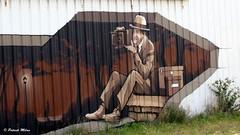 Street art - Brest harbour (patrick_milan) Tags: tag street art brest