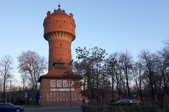 Wieża Ciśnień / Water tower (Marek vono) Tags: watertower wieżaciśnień wieża water waterworks building watercompany woda wodociągi budynek firmawodociągowa