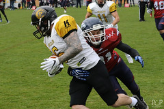"26. März 2017_Sen-010.jpg<br /><span style=""font-size:0.8em;"">Bern Grizzlies @ Calanda Broncos 26.03.2017 Stadion Ringstrasse, Chur<br /><br />© <a href=""http://www.popcornphotography.ch"" rel=""nofollow"">popcorn photography</a> by Stefan Rutschmann</span> • <a style=""font-size:0.8em;"" href=""http://www.flickr.com/photos/61009887@N04/33686407455/"" target=""_blank"">View on Flickr</a>"