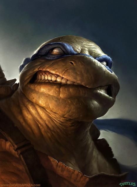 史上最具魄力、最真實的「忍者龜」登場!