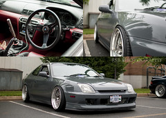 Lude. (Ryan S Burkett | RSB Photography) Tags: nova photoshop work honda grey nikon triptych stitch 1st gray polish 2nd adobe poke va static battleship flush 18 aggressive 35 gen lowered jdm shifter slammed prelude dumped rhd camshaft vtec bagged cs6 fitment vsxx ptuning hellaflush d300s stanceworks canibeat bwahhh stancenation