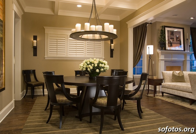 Salas de jantar decoradas (29)