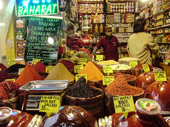 Market I (gorrhyza) Tags: color turkey market spice olympus istanbul spices