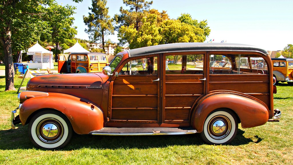 1940 Chevrolet Master Deluxe Woodie Stat by Jack Snell - Thanks for over 26 Million Views, on Flickr