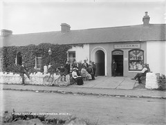 Temprance Bar! (National Library of Ireland on The Commons) Tags: ireland dog bicycle souvenirs clare pipe smoking figurines postcards cocoa benches wateringcan munster temperance glassnegative lisdoonvarna robertfrench tivoliterrace williamlawrence v