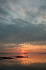 Steinhuder Meer (Lake Steinhude) (v.birke) Tags: sunset sunrise sonnenuntergang iceskating hannover promenade schaumburg sonnenaufgang segeln segelboot steg undine badeinsel steinhude