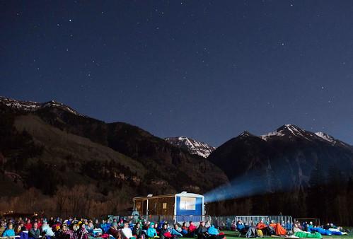 Base Camp Outdoor Theater - Photo Credit Gus Gusciora