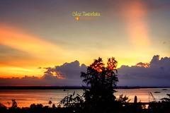 Sunset from Gunung Balikpapan (Chaz Tumbelaka Photography) Tags: sunset balikpapan pertamina
