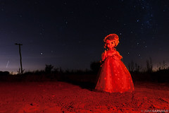 Mueca nocturna 2 (Juan Gargiulo) Tags: night doll nightshot nocturna starry mueca nightshoty