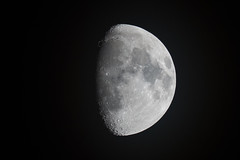 73 percent full - Waxing Gibbous (StormLV) Tags: moon apo 90mm waxinggibbous megrez williamoptics sonya99 sonyslta99