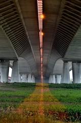 Lek Bridge II (Pjerry ;)) Tags: longexposure nightphotography bridge holland netherlands architecture night river nikon utrecht nederland thenetherlands le brug nikkor architectuur nieuwegein lek rivier 2470mm 2470mmf28 2013 d7000 pjerry