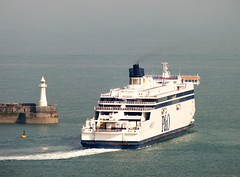 Busy Dover Harbour (Paul @ Doverpast.co.uk) Tags: cruise ferry ship with harbour ships busy saga ferries dover liner plethora liners