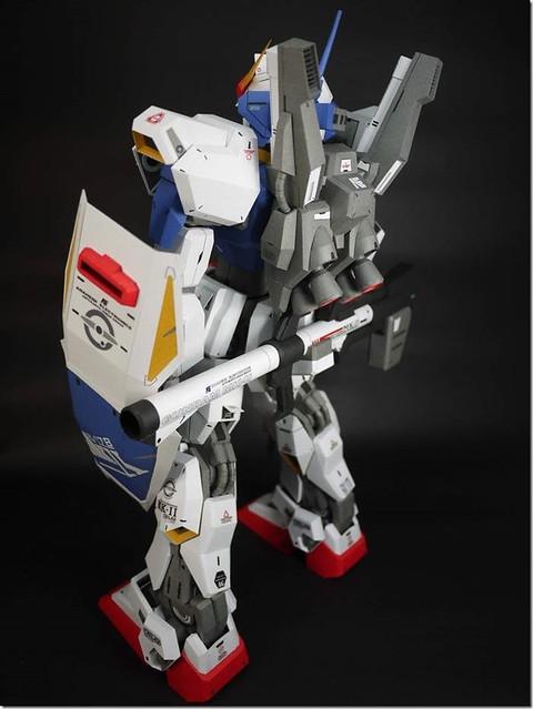 """【玩具人沈孟儒投稿】紙模型ETTE MK2全程無墨線製作,自行改裝""""碎甲""""效果"""