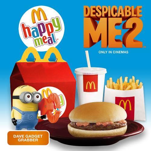 麥當勞快樂兒童餐 神偷奶爸2