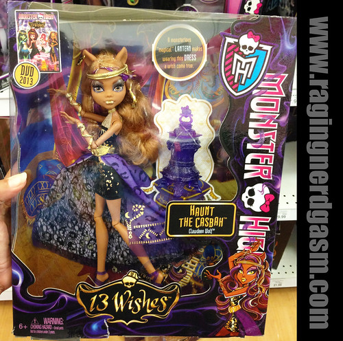 Remarkable, Monster high 13 wishes dolls day