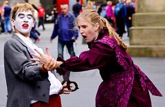 Edinburgh Festival 2013 (swkphoto) Tags: street costumes festival edinburgh play stage royal shows performers outfits mile 2013