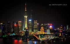 Shanghai Bund Night Scene (James Yu Photography) Tags: shanghai 5 hyatt years another vue bund 詹姆斯视界