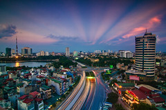 vl_02272 - Copy (Hanoi's Panorama & Skyline Gallery) Tags: park street city light sunset sky panorama lake building skyline architecture skyscraper canon landscape asian hotel landscapes asia downtown capital skylines landmark s nikko hanoi asean appartment lotte dongda hànội 2013 skyscrapercity côngviên côngviênthốngnhất kimliên caoốc keangnamlandmark hầmchuikimliên