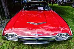 1961 Ford Thunderbird HDR (hz536n/George Thomas) Tags: summer ford car canon lab michigan august canon5d upnorth thunderbird hdr 1961 linwood smörgåsbord pinconning labcolor ef1740mmf4lusm 2013 cs5 deeracres photomatix40