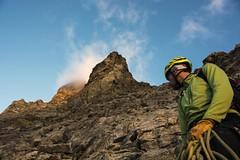 Climbing Hörnli Ridge (sylweczka) Tags: mountains alps switzerland climb tour zermatt matterhorn hörnlihut sylweczka hochotur