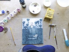 (extra-minty) Tags: illustration ceramic ceramics drawing illustrated clay pottery maud decal drawn transfer porcelain