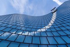 Geschwungen - OMV, Viertel Zwei, Wien, Vienna (Gerhard R.) Tags: vienna wien building architecture arquitectura architektur modernarchitecture omv modernearchitektur viertelzwei