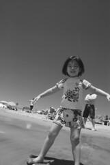 DSC_0061 (rlnv) Tags: california blackandwhite santacruz beach caitlin bayarea centralcoast santacruzbeachboardwalk 1855mmf3556gii nikond40x