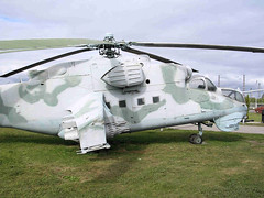 """Mi-24 Hind (2) • <a style=""""font-size:0.8em;"""" href=""""http://www.flickr.com/photos/81723459@N04/9964318563/"""" target=""""_blank"""">View on Flickr</a>"""