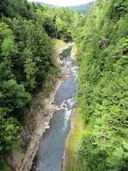 Quechee Gorge (Arkansas Wanderer) Tags: trees rocks vermont rivers gorge hartford