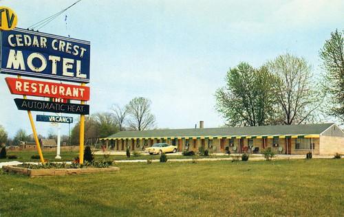 Cedar Crest Motel and Restaurant Greencastle IN