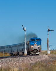 Leaving Las Vegas (Train Chaser) Tags: amtrak semaphore train3 amtk9