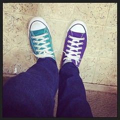 Miss mate converse (Neddie Facio Photography) Tags: square purple teal converse squareformat chucks allstars amaro iloveconverse iphoneography instagramapp missmate obsessedwithconverse