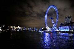 The London Eye! (Bear.about) Tags: uk blue sleeping england man bus london playground big darkness ben camden nfl spiderman londoneye bigben argument vegetarians undergound vegans