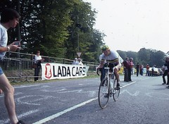 1982 World Cycling Champ014 (Tim Callaghan) Tags: cycling jones 1982 bikes flags kelly 35mmslides roads crowds goodwood lemond saroni worldroadracechampionships