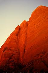 rokk (α RAINYNEPTUNUS ω) Tags: arizona film analog sandstone desert kodak spires sedona slidefilm cliffs spire velvia fujifilm redrock 50 portra analogphotography rvp kodakfilm velvia50 filmphotography kodakportra desertlife
