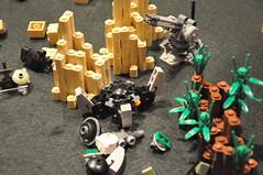 Feast of Blades 2013: MFZ (Mitten Ninja) Tags: mobile feast demo lego frame zero blades mech