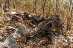 Fuselage? (Crew One Photography) Tags: history nationalpark pentax crash 4wd queensland ww2 wreck bomber nationalparks wreckage b24 k30 centralqld kroombittops beautifulbetsy