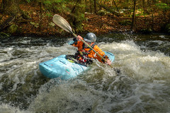 BlueKayak156 (Geoffrey Coelho Photography) Tags: county autumn fall sports water sport river photography boat whitewater kayak otis action outdoor massachusetts competition falls rapids photograph rush boating berkshires recreation annual splash berkshire farmington kayaker splashing rushing