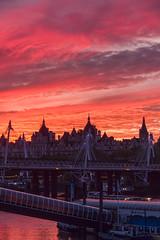 london-5-131113 (Snowpetrel Photography) Tags: sunset sky london thames streetphotography cityscapes riverthames urbanlandscapes bankside pentaxmx1