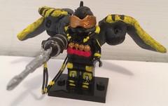 Batman: Arkham Origins Firefly V2 (Yellowdude8) Tags: city sunset man photoshop comics movie justice dc apache leg
