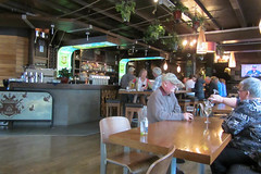 Dinner Time (Jocey K) Tags: newzealand people bar pub chairs nz tables southisland centralotago queenstown