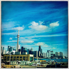 Toronto (Evan MacPhail Photography) Tags: evan toronto ontario tower skyline cn photography airport day view time billy daytime bishop macphail evanmacphailphotography