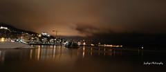 Winter Evening in Oslo (iJoydeep) Tags: winter nature oslo night nikon fjord operahouse operahuset d7000
