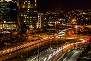 Oslo light trails II