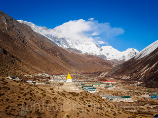 Dingboche, the footstool of the mountains